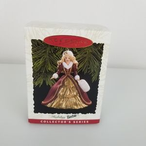 1996 Holiday Barbie Hallmark Keepsake Ornament